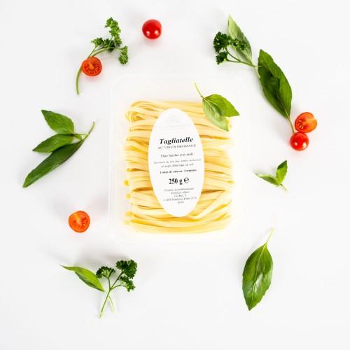 Tagliatelles fraîches au vieux fromage d'Orsières